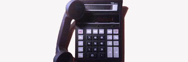calcolatrice e telefono 600x200